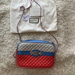 Gucci Trapuntata Quilted Camera Bag